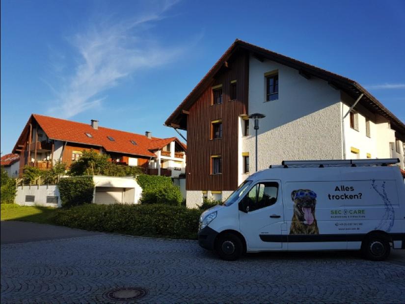 Trocknung Wasserschaden in Lindenberg